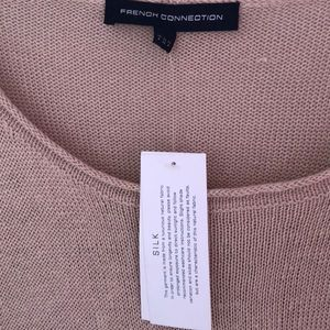 French Connection Sweaters - NWT French Connection Linen/Silk Layered Sweater